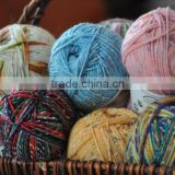 70% bamboo fiber 30% tencel blend for sock yarn 48NM3