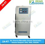 Satinless steel New style Mobile multifunction Ozone generator