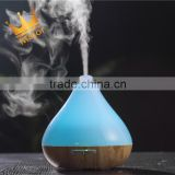 Big water tank bamboo usb aroma diffuser,essential oil nebulizer by aliexpress use in home