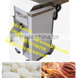 Sleeve-fish/Squid roll cutting and carving machine/High Quality Squid Roll Striping And Slicing Machine