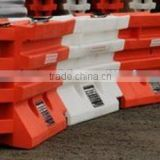 plastic traffic barrier by rotomoulding ,excellent highway barrier by LLDPE