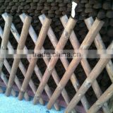 Folded Trellis Wood Fence Fencing Screen