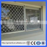 Free Sample Aluminium Diamond security protective Grille Window Security Screens Mesh(Guangzhou Factory)
