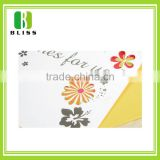 Happy birthday kraft paper die cut Standing Cardboard paper greeting card racks for sale