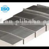machine safety guard steel plate telescopic cover