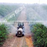 high efficient orchard fruit garden vineyard trailer boom tank air blast sprayer 800L 1500L with Italy SPA diaphragm pump