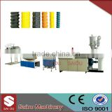 plastic extrusion HDPE corrugated tube extrusion machine