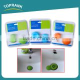Toprank Wholesale High Quality Kitchen Sink Drain Parts Stopper Drain Cover Silicone Sink Drain For Kitchen