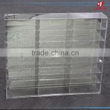 China wholesale wall mounted crystal clear acrylic lucite plastic 1:64 car model display case
