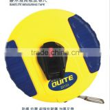 China ABS ruber covering 10m steel long measuring tape