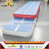 Factory directly inflatable air track tumble track inflatable air mat for gymnastics for sale