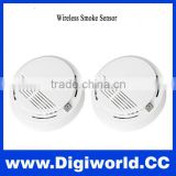 Portable High Sensitive Stable Photoelectric Wireless Smoke Detector