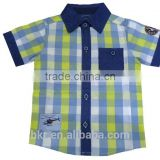 BOYS YARNDYED CHECKS SHIRT