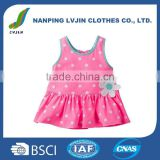 Infant & Toddlers Clothing Baby T-Shirts 100% Cotton Girls' Sleeveless Top Dress