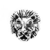 Alibaba Wholesale Zinc Based Alloy Lion Animal Antique Silver Spacer Beads