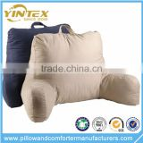 Shredded Foam Reading Pillow Armrest Back Head Support Armrest Pillow for Bed