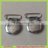 Round Shape Metal Badge Clips, duck clip, suspender lips