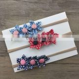 Hot Sale Chrysanthemum Makeup Headband Girl's Colorful Hair Accessories
