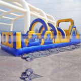 Gaint inflatable obstacle course game