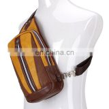 China manufacturer high quality leisure sport shoulder sling crossbody bag