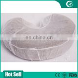Disposable massage table cover, face rest cover