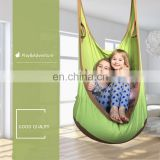 Factory Stock Hanging Hammock for Adult and Child,100% Cotton, Canvas Seam,Indoor and Outdoor Sports Toys Size:55*