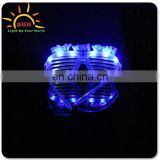 China wholesale Led Flashing Happy New Year Flashing Sunglasses for Party