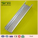 Low price earth friendly 50*50mm galvanized steel stud for partition