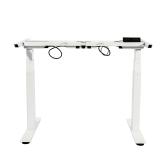 2018 new model white electric adjustable sit stand ergonomic desk