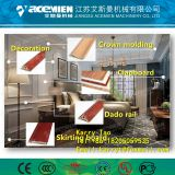 Wood plastic composite Window/Decking/Ceiling/Baseboard/Concrete/Building Profile making machine