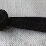 Polyester fabric by hand chinese knot button frog button with two parts for chef uniform