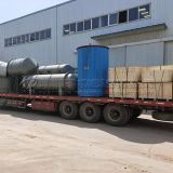 Q245R SGS/ EPA/BV/ISO pyrolysis oil distillation plant for waste oil to diesel