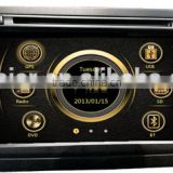 Manufacture Dual zone wince car central multimedia for VW 2013 Seat with GPS/Bluetooth/Radio/SWC/Virtual 6CD/3G /ATV/iPod