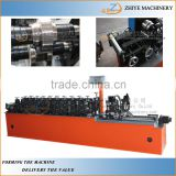 Steel channel machine Furring omega Shape making line/metal stud framing production line