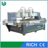 Double heads waterjet cutting machine for glass                                                                         Quality Choice