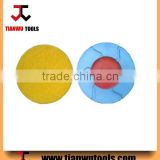 "3"" hard dry polishing pads for flexible flooring"