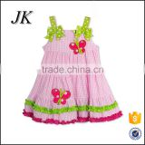 Wholesale children frocks designs cute kids beautiful girl sweet cotton baby girls dresses Most Popular