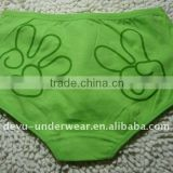 0.57USD High-End Cotton Hand Print Ladies' Panties(gdnk023)