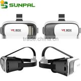 Newest 3d virtual vr reality sex mp4 player video glasses for samrt phone VR box 2.0
