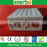 High capacity LiFePO4 battery 3.2V 100Ah no memory effect rechargeable large storage batteries for solar panels