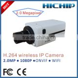 NetWork Technology and Digital Camera Type Box CMOS Wireless IP Camera, 1080P Alarm IP Camera
