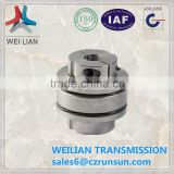 JL series flexible aluminium shaft diaphragm coupling super high precision
