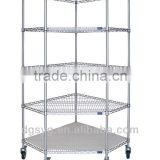 Wire Shelving - Corner Unit,Corner Wire Shelving