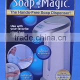 Plastic Hands-Free Automatic Soap Dispenser