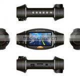 "2.7"" Dual camera lens H.264 HDMI full HD 1080P mini DVR for car with GPS,G-sensor SC310"