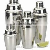 Hot Sale Stainless steel Cocktail Shaker/Bar Shaker Brushed Surface