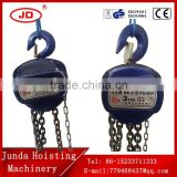 Lifting machinery 2 ton*3M chain pulley block Vital chain hoist chain block