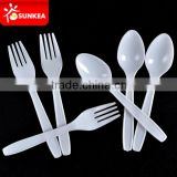 Fast food restaurant plastic disposable spoon and fork                                                                         Quality Choice