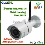 Onvif P2P cloud POE Outdoor hd wifi ip camera with 36 IR Led 1080p ip camera full hd wifi