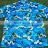 Men's Hawaiian shirts with tropical design print